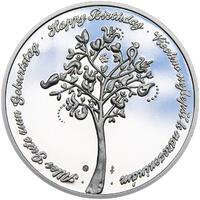 Medaile k životnímu výročí stříbro