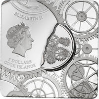 2017 Cook Islands - Time Capsule Coin - Ag