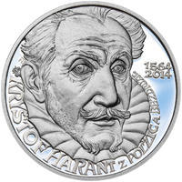 KRYŠTOF HARANT – návrhy mince 200 Kč - sada tří Ag medailí 34 mm Proof v etui