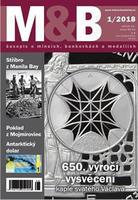 časopis Mince a bankovky č.1 rok 2018