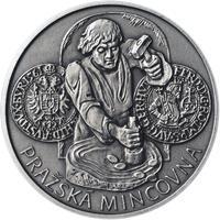 Pražská mincovna - stříbro malá patina
