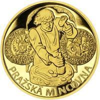 Pražská mincovna - zlato 1 Oz Proof