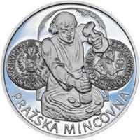 Pražská mincovna - stříbro malá Proof