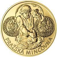 Pražská mincovna - zlato 1/2 Oz b.k.