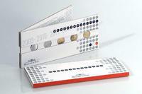 Francie - sada 2 Eur od 2007-09 - collector