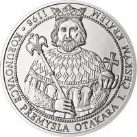 810 let od korunovace Přemysla Otakara I. českým králem - stříbro b.k.