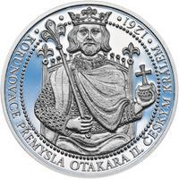 Korunovace Přemysla Otakara II. českým králem -  stříbro Proof