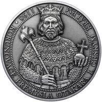 810 let od korunovace Přemysla Otakara I. českým králem - stříbro patina