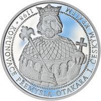 810 let od korunovace Přemysla Otakara I. českým králem - stříbro Proof