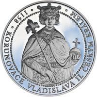 Korunovace Vladislava II. českým králem - stříbro Proof