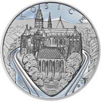 Košice - stříbro 1 Oz Proof