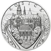 Košice - stříbro 1 Oz b.k.