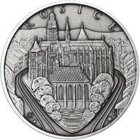 Košice - stříbro 1 Oz patina