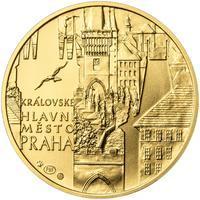 Královské hlavní město Praha - zlato 1 Oz b.k.