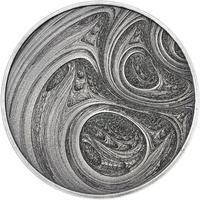 Fraktály II. - stříbro patina