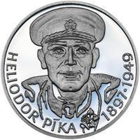 Heliodor Píka - stříbro 28 mm Proof