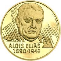 Alois Eliáš - 1/2 Oz zlato Proof