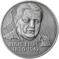 Alois Eliáš - 1 Oz stříbro patina