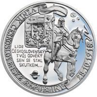 Muži 28. října - stříbro 1 Oz Proof