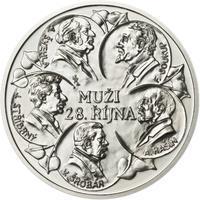 Muži 28. října - stříbro malá b.k.