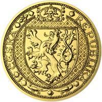 Lev a Orlice - zlato 1/2 Oz b.k.