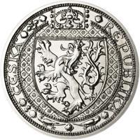 Lev a Orlice - stříbro malá b.k.