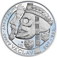 Relikvie Sv. Václava - vzor 1 - Ag malá Proof