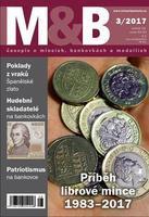 časopis Mince a bankovky č.3 rok 2017