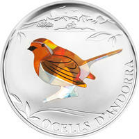 2012 - Birds of Andorra set Ag Proof
