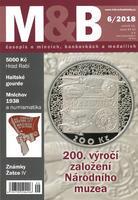 časopis Mince a bankovky č.6 rok 2018