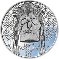 Relikvie Sv. Václava - vzor 2 - 1 Oz Ag Proof