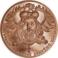 1100. výročí narození sv. Václava -  1 Oz Měď b.k.