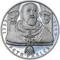 Petr Parléř - 1 Oz stříbro Proof