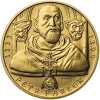 Petr Parléř - 1/2 Oz zlato b.k.