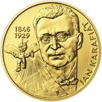 Jan Karafiát - Broučci - zlato 1/2 Oz b.k.