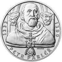 Petr Parléř - 28 mm stříbro b.k.