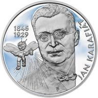 Jan Karafiát - Broučci - stříbro malá proof