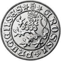 Pražský groš - 10 dukát Ag b.k.