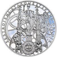 Proof - Pražské dukáty - 10 dukát - Staroměstský orloj Ag