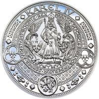 Nejkrásnější medailon II. Královská pečeť - 1 kg Ag Proof-like