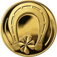 Medaile štěstí - Zlato
