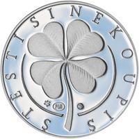 Medaile štěstí - Stříbro