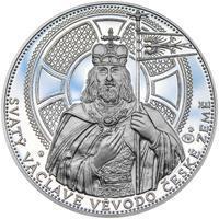 2014 - Proof - Svatováclavské dukáty - 10 dukát Ag