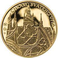 Proof - Pražské dukáty - 2 dukát - Chrám sv. Víta Au