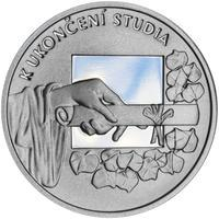 K ukončení studia 25 mm stříbro Proof