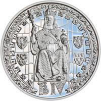 Proof - Pražské dukáty - 5 dukát - Prašná brána Ag