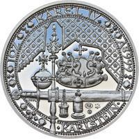 Nejkrásnější medailon IV. - Karlštejn Ag Proof