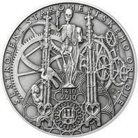 Patina - Pražské dukáty - 10 dukát - Staroměstský orloj Ag