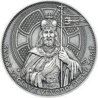 2015 - patina - Svatováclavské dukáty - 10 dukát Ag