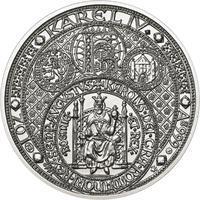 Nejkrásnější medailon III. Císař a král - 50 mm Ag b.k.